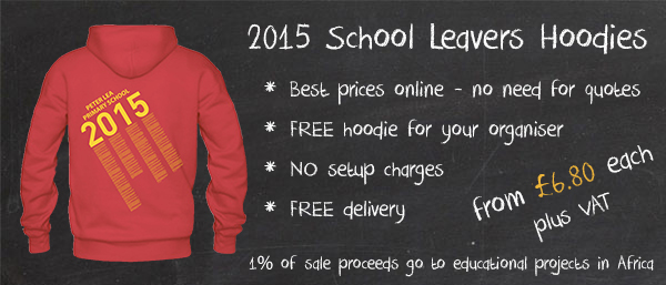 2015 School Leavers Hoodies